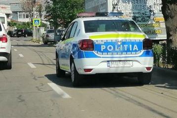 Acțiuni ale polițiștilor de la rutieră