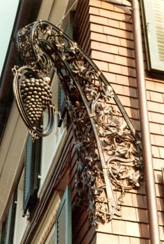 Aushänger Hotel Traube
