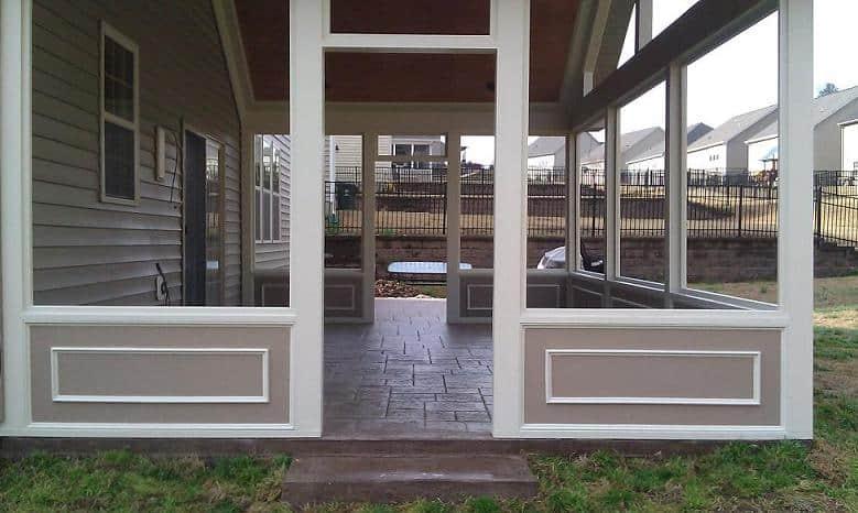 raleigh screen porch 3 season room