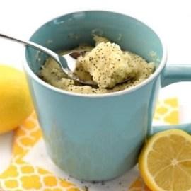 Lemon Poppyseed Mug Cake