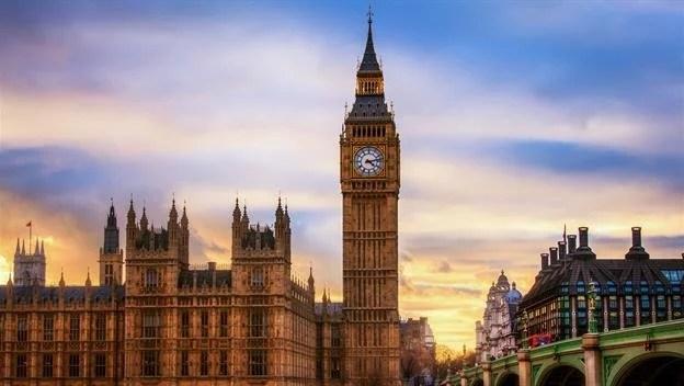 famous clock london big ben