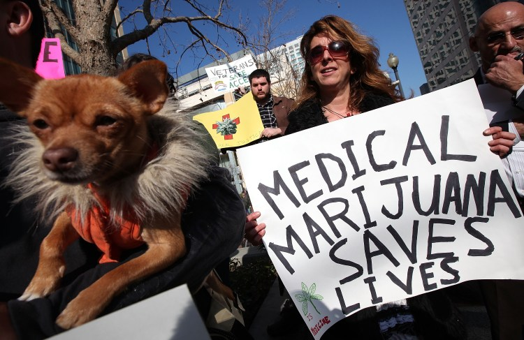 Medical Marijuana Supporters Hold Rally And Press Conference In Oakland
