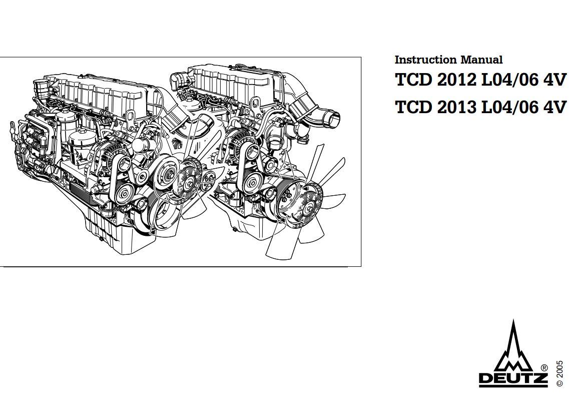 Deutz Engine Tcd L04 06 4v Instruction Manual