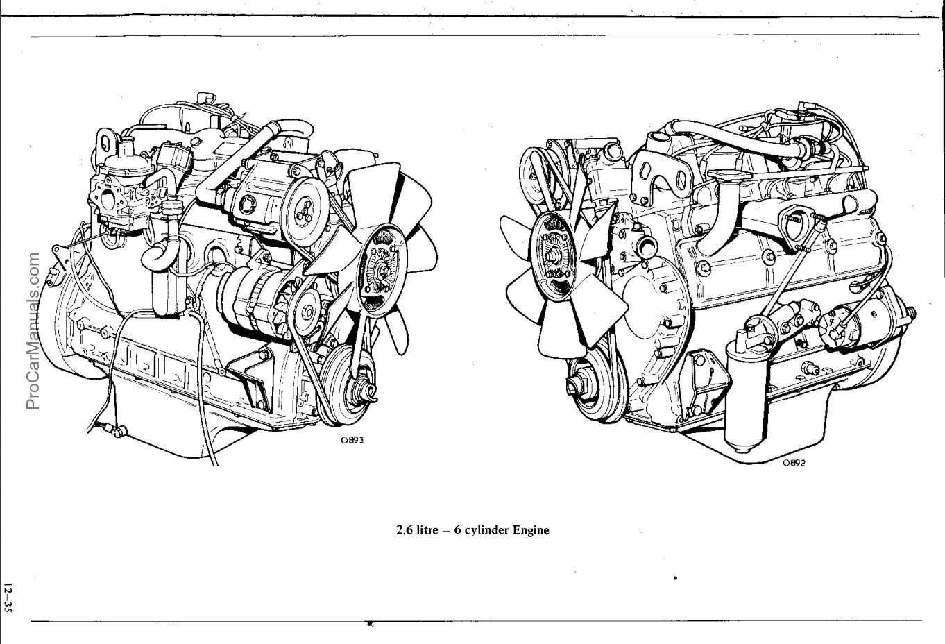 Land Rover 2 6 Litre 6 Cylinder Petrol Engine Repair