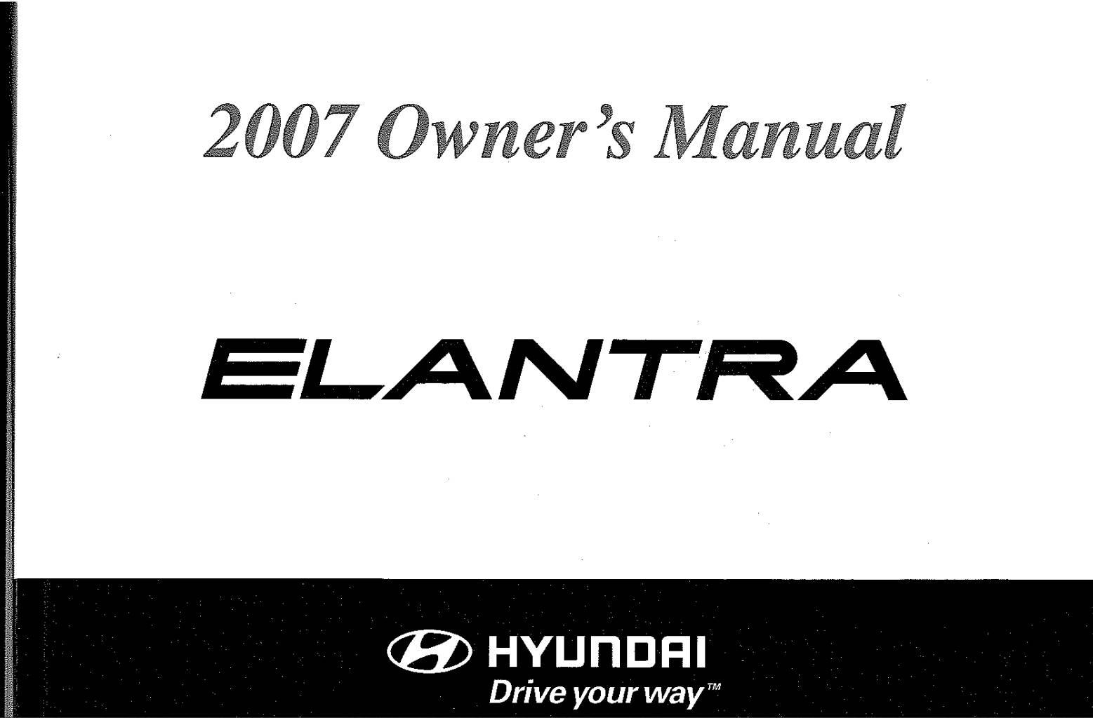 Hyundai Elantra Owner S Manual Download