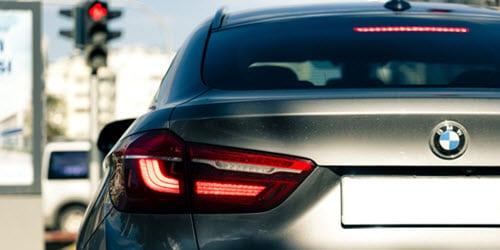 BMW X6 Back