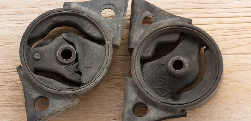 Broken Car Engine Mounts