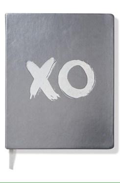 Nordstrom 'XO' Metallic Journal