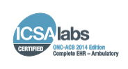 ICSA Labs 2014 EHR Certification