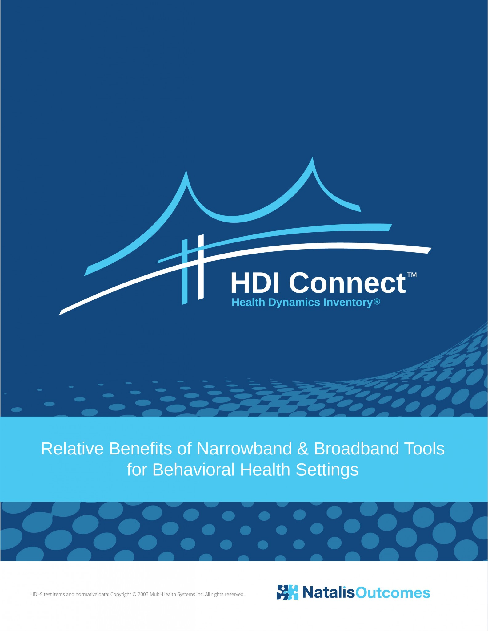 HDI™  CORRELATION WITH PHQ 9