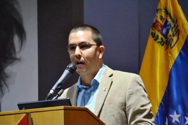 Canciller de Venezuela agradece orientaciones a Sánchez Cerén