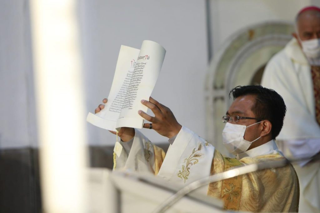 toma de posesión Arzobispo de Guatemala