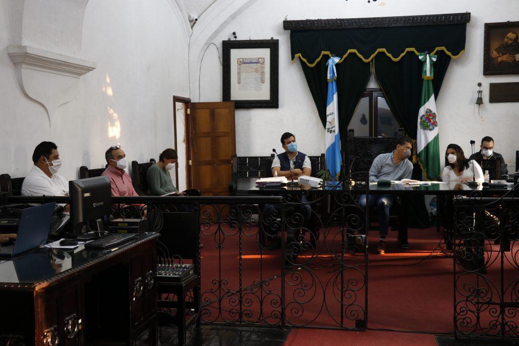 concejo municipal en sesión