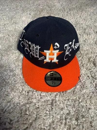 Men S Houston Astros Hat From Vlone Grailed