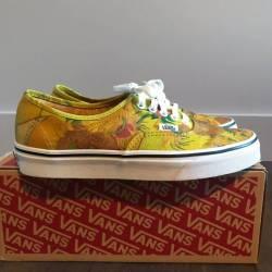 d7cb1ac0d8dfb Vans Vans X Van Gogh Sunflower Size 8 Low Top Sneakers For Sale