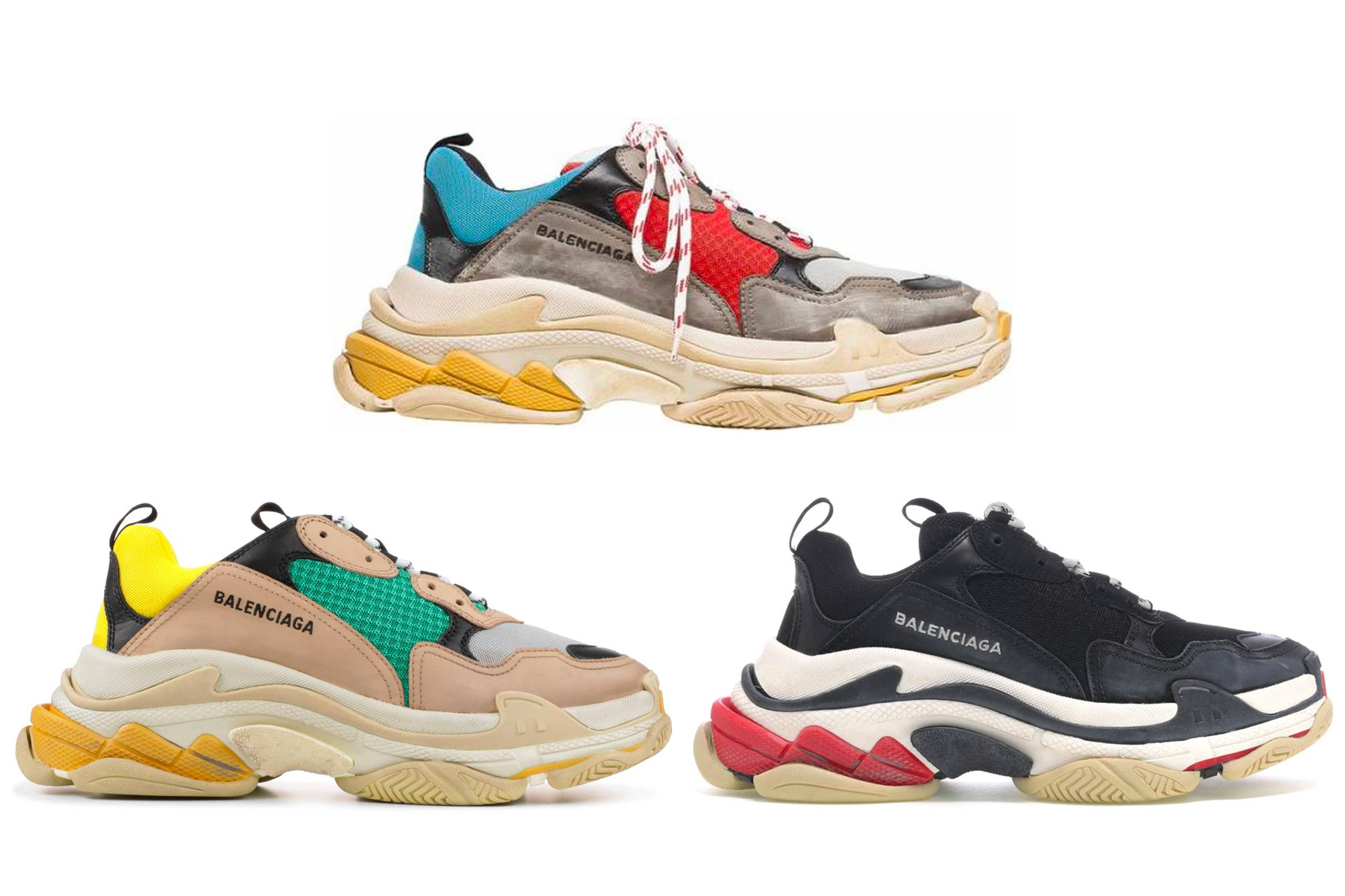 Best Replica Balenciaga Triple S Clear Sole Trainers Cream White