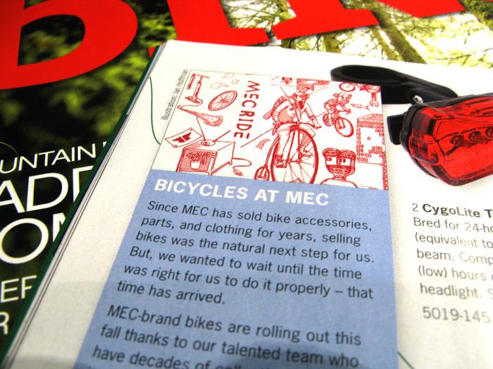 MEC Cat - Bikes