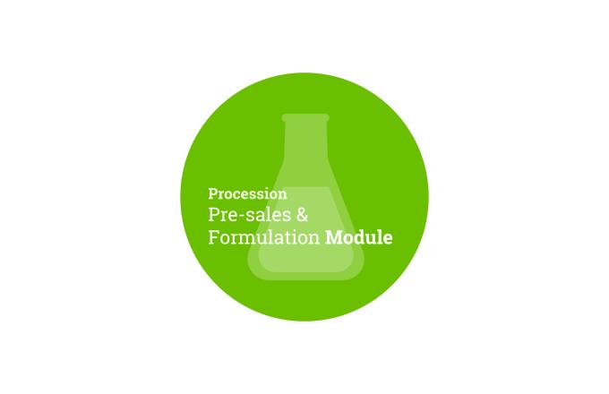 Procession Pre-sales & Formulation Module