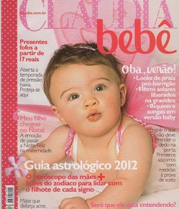 Revista Cláudia Bebê entrevista Heloísa Capelas