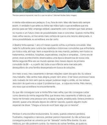 """Revista Veja SP – """"Perdoar parecia impossível"""""""