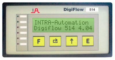 Nivåställ (Digiflow 514 - Microprocessor Controlled Flow Indicator–Integrator) Image