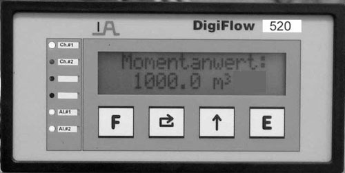 Nivåställ (Digiflow 520 - Microprocessor Controlled Digital Level Indicator) Image