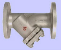 Strainer PN 16 Y-type, with flanged ends and drain-plug 1/2 Image