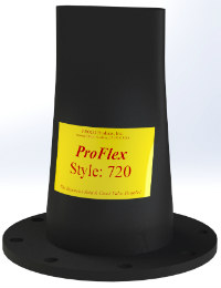 Proflex in-line rubber check valves 720 Image