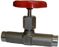 Nålventil med svetsändar av stål C 22.8 Pn100 Image