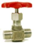 Nålventil av syrafast stål SS 2348 med utv. ansl. Pn400 Image