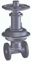 G.S.54 FB DIN REG Diaphragm valve Image