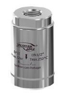 DF Series are compact noise diffusers, Stainless steel 1/2