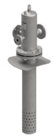 FCD, Stainless steel, Threaded ISO 7 Rp Flanged EN or ASME Image