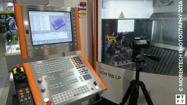 Obrabiarki - Ilustracja 1. Frezarskie centrum CNC firmy GF Machining Solutions dedykowane do obróbki szybkościowej HSM.
