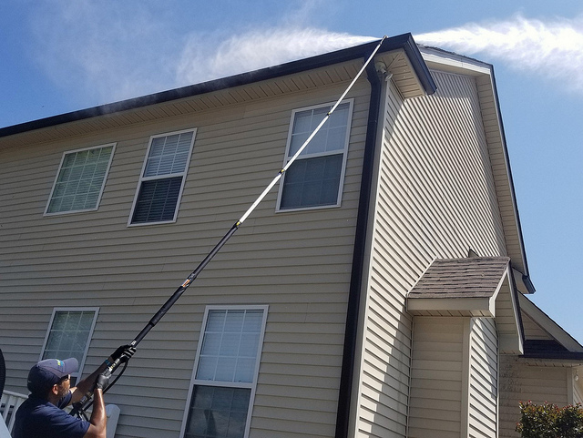 gutter cleaning clean-out