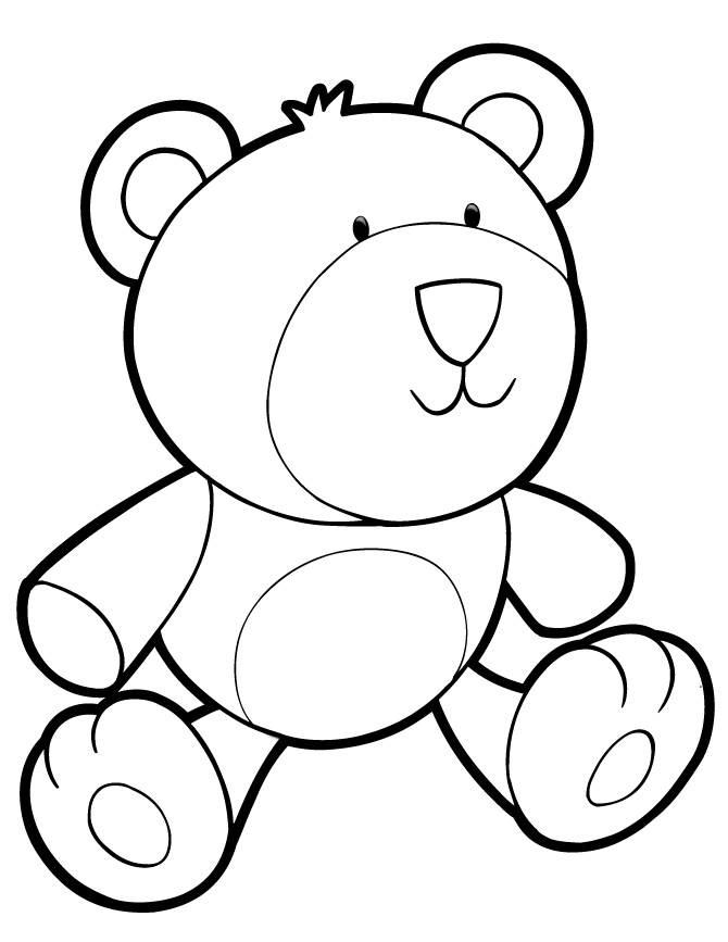 bear coloring pages for