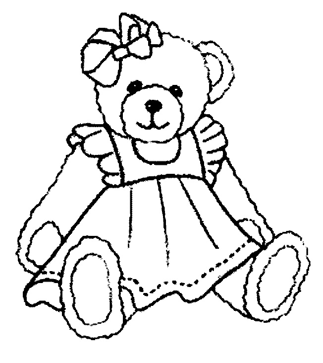 teddy bear coloring pages for girls teddy bear coloring pages for