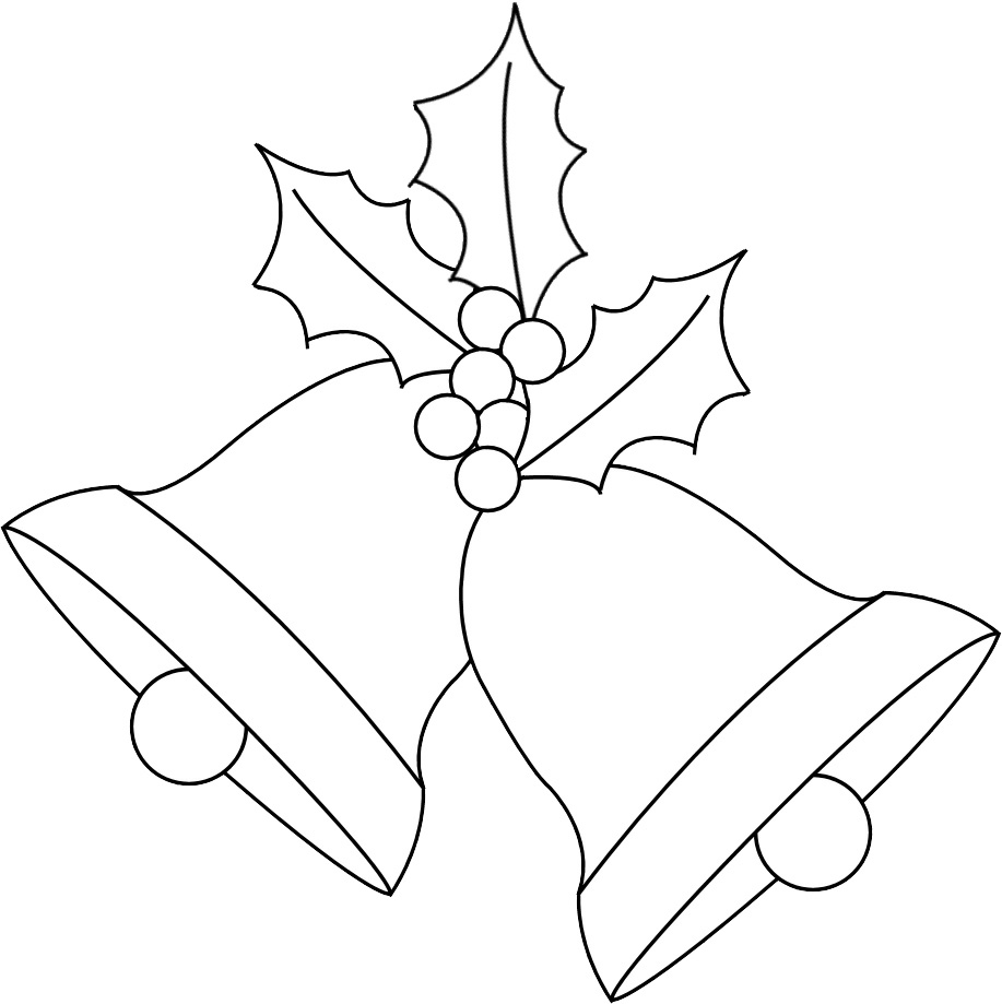 Easy Draw Christmas Bells