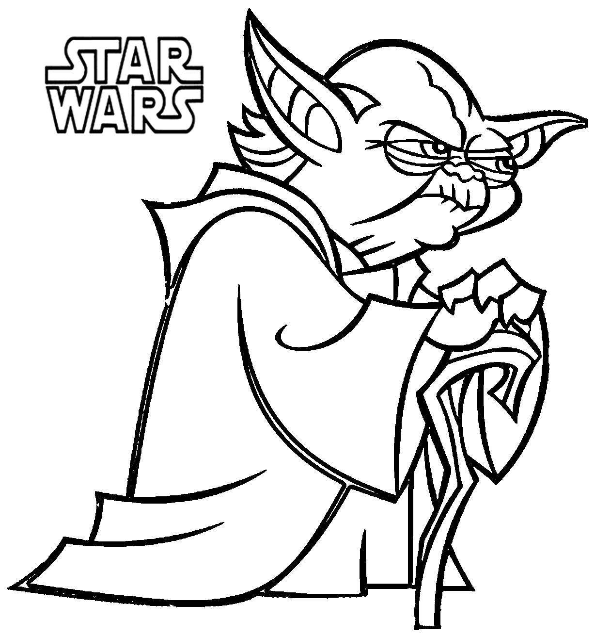 50 Top Star Wars Coloring Pages Online Free