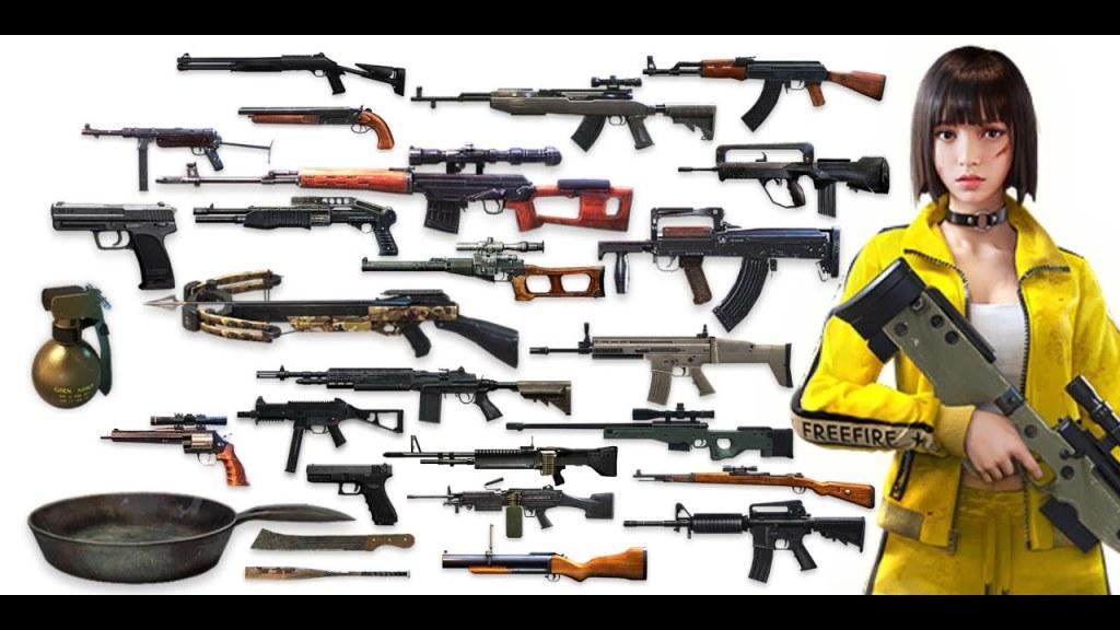 armas free fire