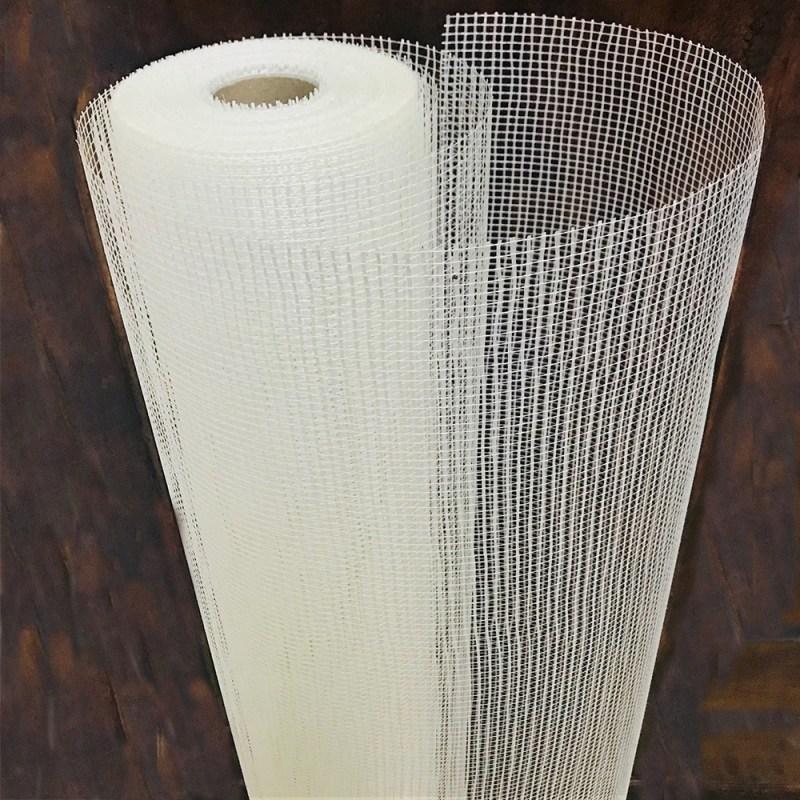 Malla fibra vidrio 1x50 mts 145 gms/m2