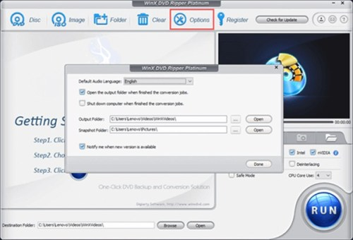 WinX DVD Ripper Platinum 8.20.5 Crack + Serial Key 2021 [Win/Mac]