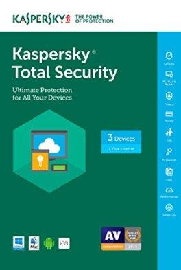Kaspersky Total Security 2018 v18.0.0.406 Crack & Serial Keys Download