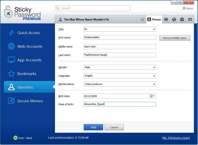 Sticky Password 8.0.12.125 Crack & Serial Keys Download [Latest]