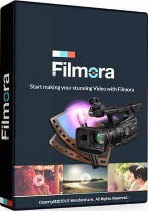 Wondershare Filmora 8.5.1.4 Crack & Keygen Download