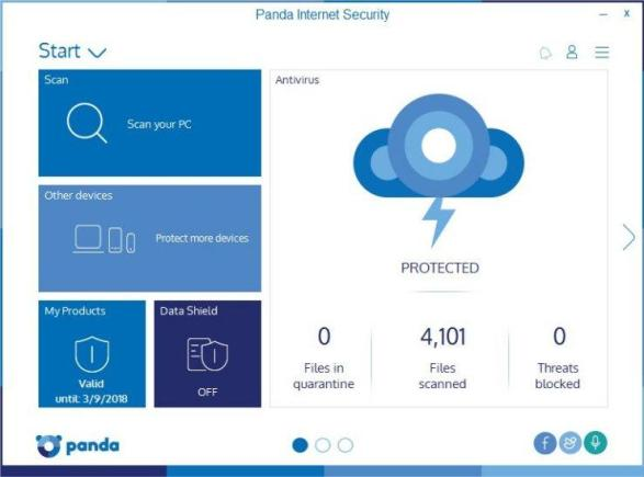 Panda Internet Security 18.05.00 2018 Crack & Serial Keys Download