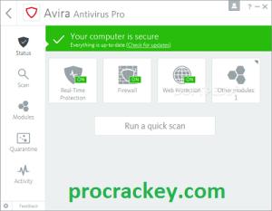 Avira Antivirus Pro MOD APK Crack