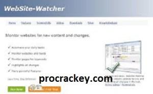 Website-Watcher MOD APK Crack