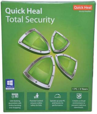 Quick Heal Total Security 2018 Product key + Crack (32 & 64 bit)