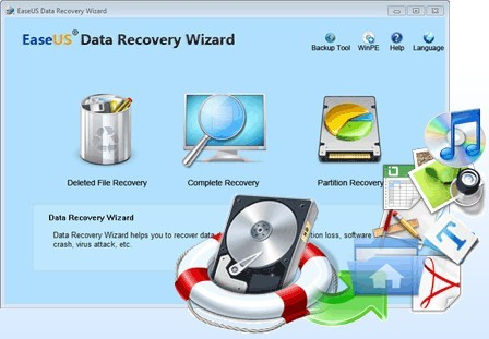 EaseUS Data Recovery Wizard 14.2 Crack With Serial Key Download